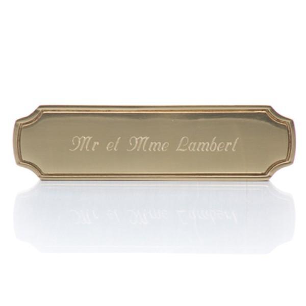 Plaque de porte en laiton cadeau de star for Plaque de porte humoristique