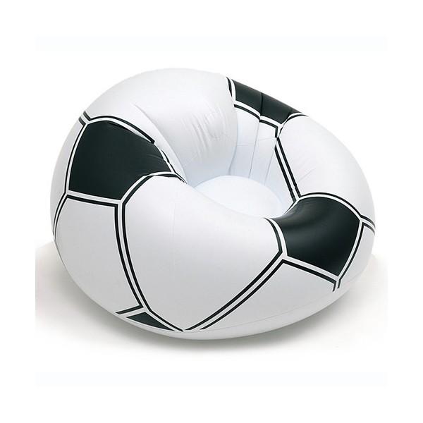 Pouf ballon de foot - Fauteuil ballon de foot ...